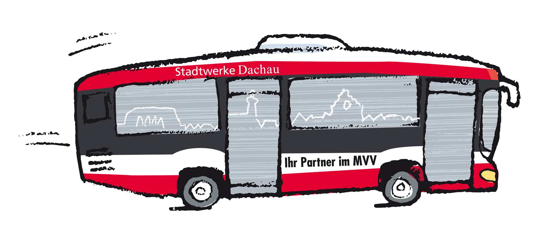 ILLUSTRATION BUS